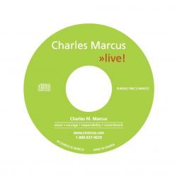 Charles Marcus Live CD